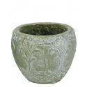 NIMA - Pot Céramique Vert D15 x H13 cm