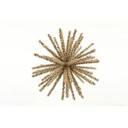 BERRY - Boule étoile Or D12 cm