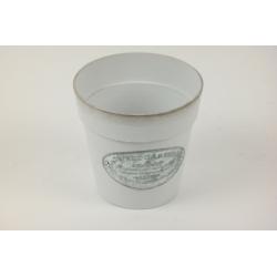 SWEET GARDEN - Cache-pot Zinc Gris D13.5 cm