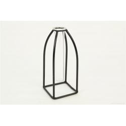 CURI - Vase + Support fer à suspendre D7.5 x H18 cm