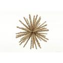 BERRY - Boule étoile Or D7.5 cm