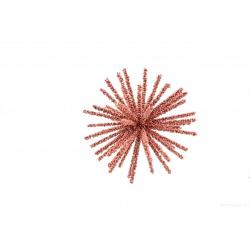BERRY - Boule étoile Rose D7.5 cm
