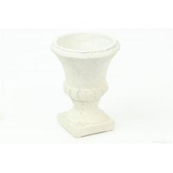 MEDICIS - Pot Montaigne Blanc D10 x H13 cm