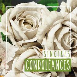 CONDO - Etiquettes Voeux par 500 Condoléances