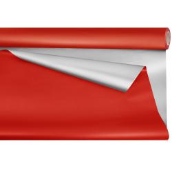 OP - Opaline Métal Duo Uni Rouge 0.8 x 25 m