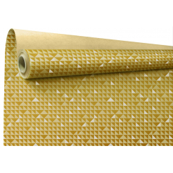 CONSTANCE - Papier Kraft Constance Or 0.8 x 40 m