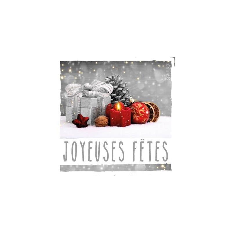 NOEL - Etiquettes Voeux par 500 Joyeux Noël