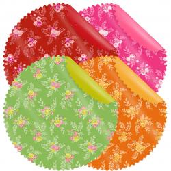 SENTE - Collerette 4 couleurs par 20 D58 cm