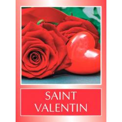 STVAL - Etiquettes Voeux Tendresse par 500 Saint Valentin