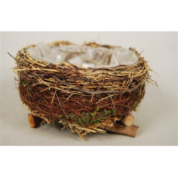 NEST - Nid Branchages Naturel DIA20 x H8 cm