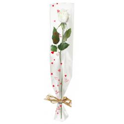 "COEUR - Etui Rose 16x80cm ""Coeur"" (x100)"