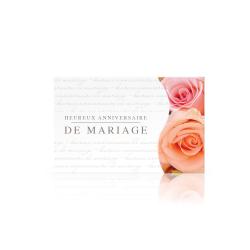 DIV - Carte Jeso Twist par 10 Anniversaire de Mariage