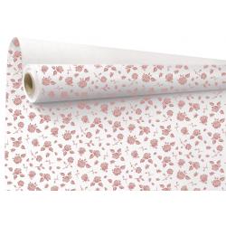 MARIA - Papier Kraft Rose Motifs floral 0.79 x 40 m