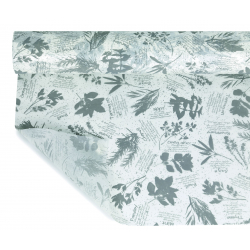 AROMATIQUE - Opaline Icepaper Gris 0.80 x 40 m