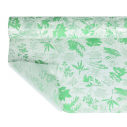 AROMATIQUE - Opaline Icepaper Vert menthe 0.80 x 40 m
