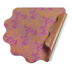 VERONICA - Collerettes Rose D50 cm par 25