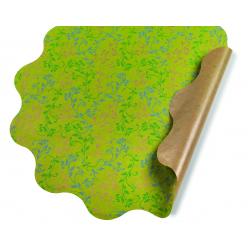 VERONICA - Collerettes Vert D50 cm par 25