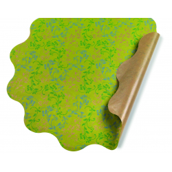 VERONICA - Collerettes Vert D60 cm par 25