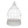 BIRD - Cages à oiseaux Métal Blanc L22 x P22 x H35 cm
