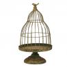 BIRD - Cage à oiseaux Métal Verte D30 x H53 cm