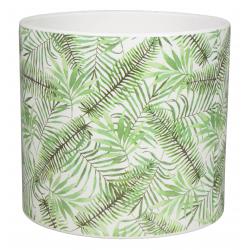 CYLY - Pot cylindre Céramique Motifs forêt D13.2 x H12.1 cm