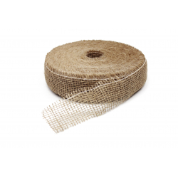 Ruban Jute 5x40m Naturel Rigide