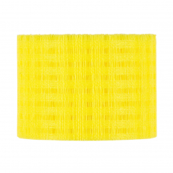 COTTON - Ruban Mesch 8cmx25m Jaune