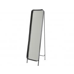 Miroir en Fer Noir sur Pied 181 x 9 x 46 cm