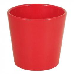 Cache-pot d13.5 h12.5 cm Rouge par 6