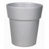 Cache-pot d 17.2  h 15 cm Argent par 4