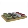 LILY - Cache-pots Muguet Céramique Assortis D7 x H6 cm par 12