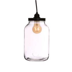TERRA - Terrarium Verre + couvercle ampoule D15,5 cm