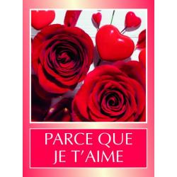 LOVE-Etiquettes Voeux Tendresse par 500 Je T'Aime