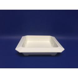 Bac Carré PVC Blanc 260x260x50mm par 3