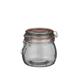 BOCAL - Bocal avec couvercle Verre H10 x D10,5 cm