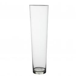 CASSY - Vase conique Verre H70 x D19 cm