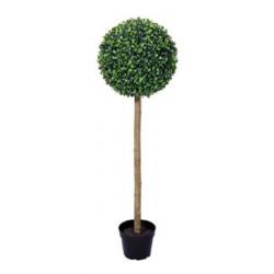 BUIS - Boule buis + pot Vert D29 x H90 cm