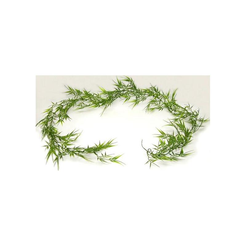 Chûte de Bambou 72 feuilles Vert H180 cm