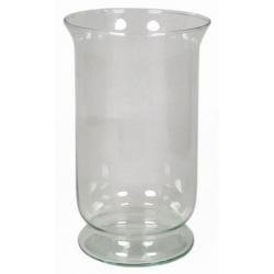Photophore en verre D13 x H21.5 cm