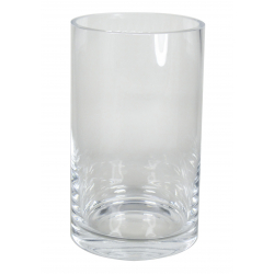 CYL - Vase cylindre coupe à froid D14.5 H25 cm