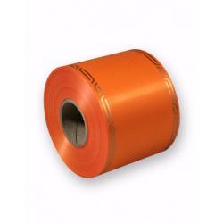 Ruban Deuil Cérémony Orange 75mm x 46m