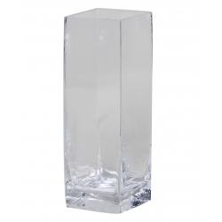 Vase Verre Carré D10 x H30 cm