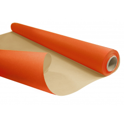Papier Kraft Orange 80cm x 40m
