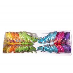 Piques Papillons H12 cm par 12