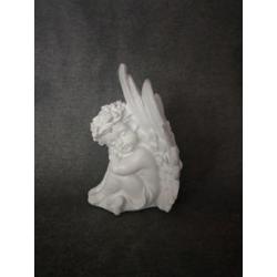 ANGEL - Ange parchemin Résine Blanc 2 Ass. L13,5 x P7 x H12,5 cm par