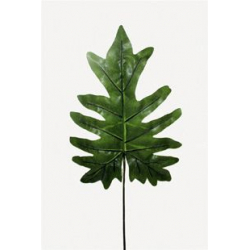 LEAF - Feuille Philodendron H78 cm Vert