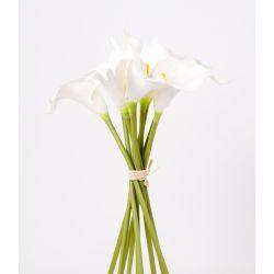 Bouquet Arum Crème 9 Ass. H30 cm