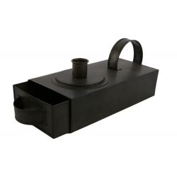 CANDLE - Tiroir porte bougie Fer Noir L18 x P10 x H7.5 cm