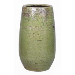 LYNN - Céramique Vase Vert D21 x H35 cm