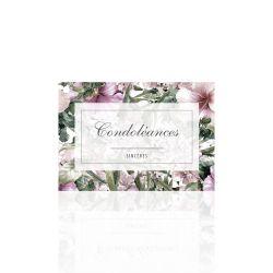 CONDO - Carte Jeso Amour par 10 Sincères Condoléances